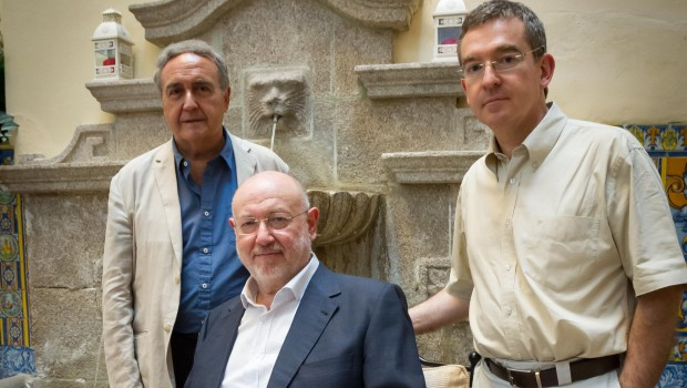 Eslava Galán, Posteguillo y Molina Foix, en el ciclo 'Una de romanos' en el Festival de Mérida