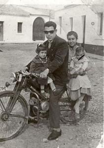 En la moto (M.R. Cardenas)
