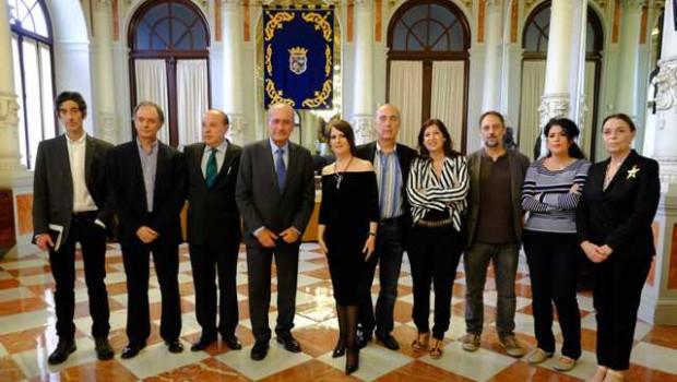 """La escritora Herminia Luque, ganadora de la IX Edición del Premio Málaga de Novela por su obra """"Amar tanta belleza"""""""