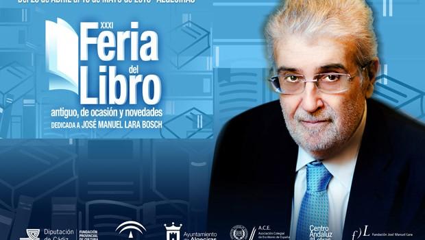 La viuda de José Manuel Lara Bosch recibirá en su honor el homenaje de la Feria del Libro de Algeciras