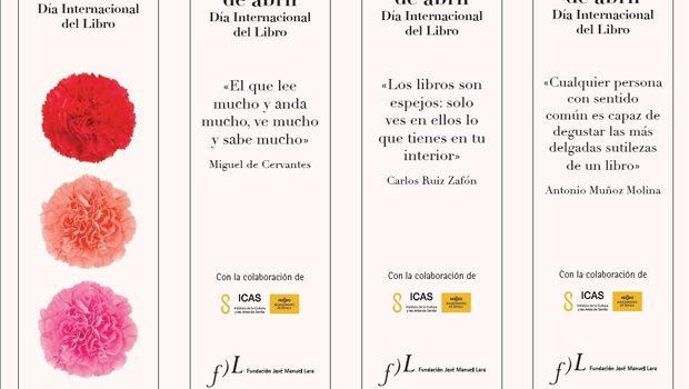 La Fundación José Manuel Lara celebra el Día del Libro en Sevilla con la donación de lotes de libros a las bibliotecas municipales