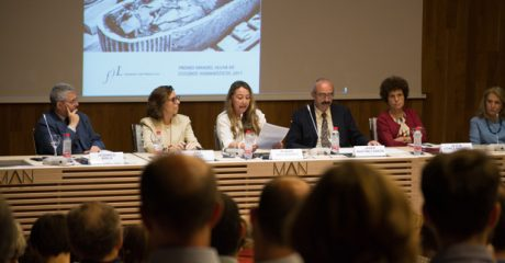 Presentación de 'Tutankhamón en España', obra galardonada con el Premio Manuel Alvar 2017