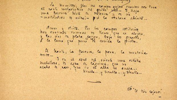 La colección Vandalia publica por primera vez completo el libro 'Historias', de Juan Ramón Jiménez, con 27 poemas inéditos del poeta