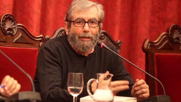 Dolores Redondo, Antonio Muñoz Molina, Fernando Aramburu, Santiago Posteguillo y Renato Cisneros, en el Hay Festival de Segovia 2017