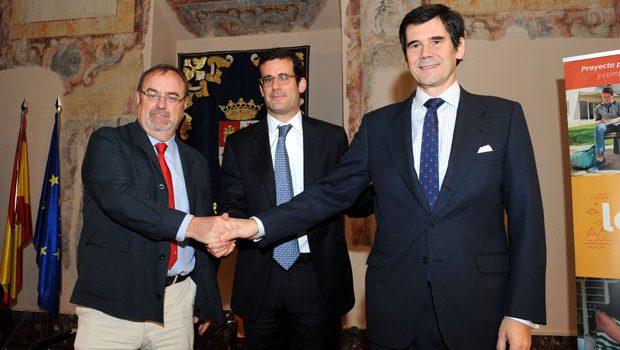La Consejería de Educación de Castilla y León y las fundaciones Telefónica y José Manuel Lara fomentarán la lectura en el ámbito escolar