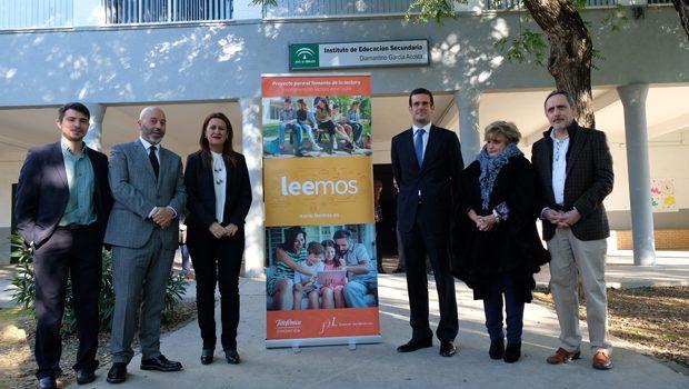 250 escuelaS de Andalucía se suman a 'Leemos', la iniciativa para fomentar la lectura en las aulas