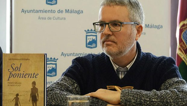 """Antonio Fontana publica 'Sol poniente': """"Esta novela es el resultado de mis obsesiones"""""""