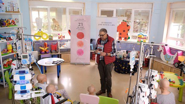Celebramos el Día del Libro en la Unidad de Oncología Infantil y el Hospital Infantil Virgen del Rocío de Sevilla