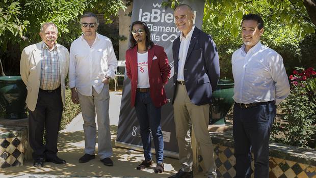 Felipe Benítez Reyes dará el Pregón de la Bienal de Flamenco de Sevilla en el Palacio de las Dueñas