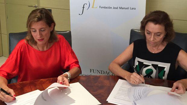La Universidad Internacional de Valencia  y la Fundación José Manuel Lara firman una alianza para promover la cultura