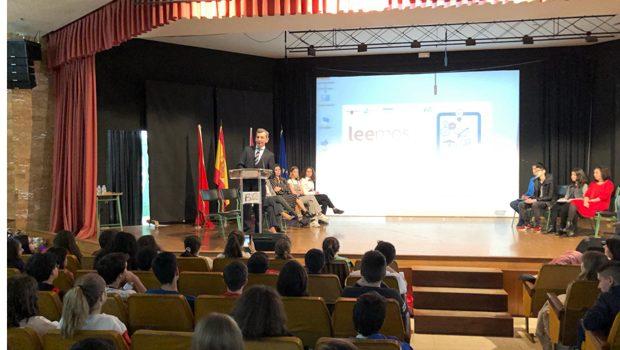 5.000 alumnos murcianos mejorará su hábito de lectura con 'Leemos', la plataforma impulsada por las Fundaciones Telefónica y José Manuel Lara