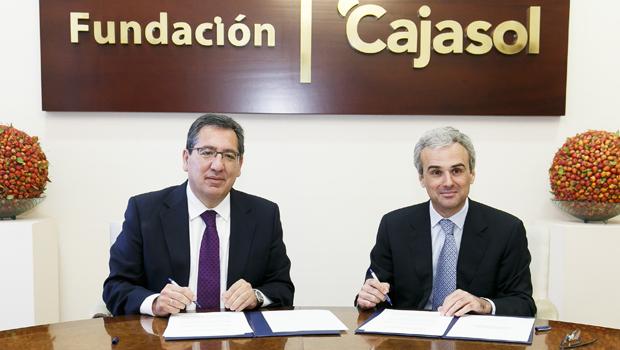 La Fundación Cajasol y la Fundación José Manuel Lara renuevan su acuerdo para la promoción de la cultura