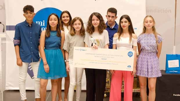 Más de 250 escolares de toda Andalucía acuden a la entrega de premios del certamen 'Mi libro preferido'