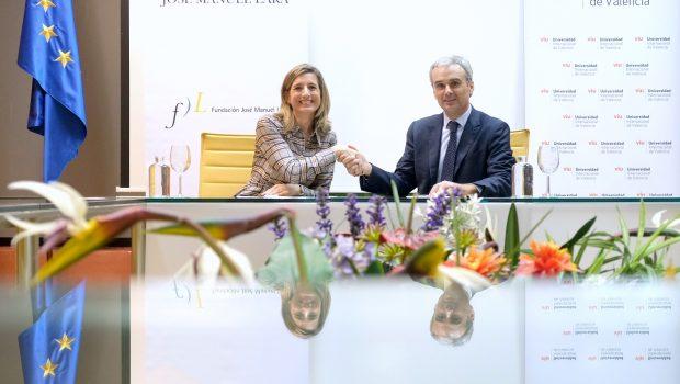 La Universidad Internacional de Valencia y la Fundación José Manuel Lara renuevan su apuesta por el fomento de la lectura