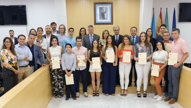 La Fundación Lara entrega esta semana las 49 becas de estudios superiores a alumnos de las localidades sevillanas de Mairena del Alcor y El Pedroso
