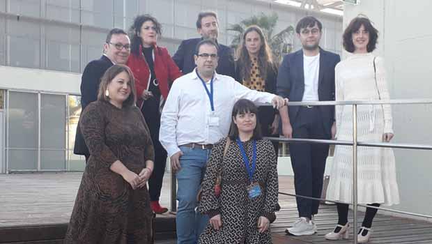 María Alcantarilla recibió el premio de los libreros en la categoría de poesía por 'Introducción al límite'