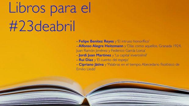 La Fundación José Manuel Lara celebra el #DíadelLibro con una selección de sus títulos
