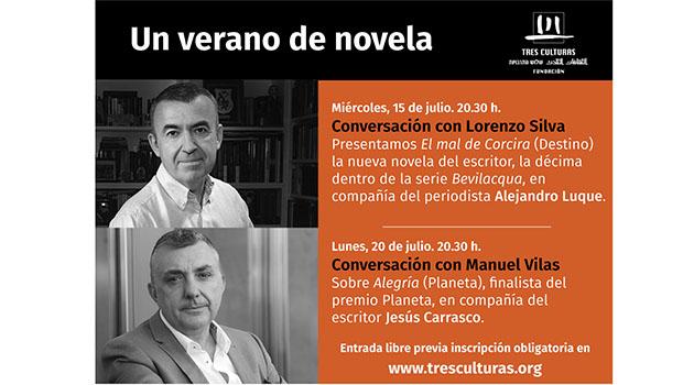 Lorenzo Silva y Manuel Vilas protagonizan en Sevilla 'Un verano de novela'