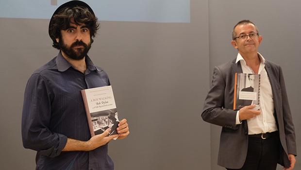 Italo Calvino y Bob Dylan, protagonistas de la entrega de premios a Antonio Serrano Cueto y Jesús Albarrán