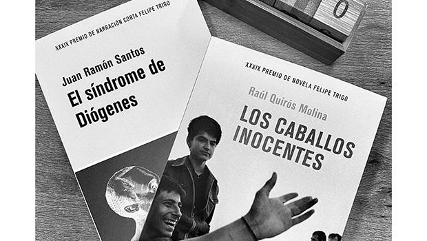 Llegan a las librerías 'Los caballos inocentes', de Raúl Quirós Molina, y 'El síndrome de Diógenes', de Juan Ramón Santos