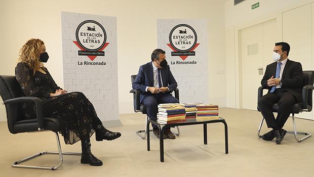 Ayuntamiento de La Rinconada y Fundación José Manuel Lara firman un convenio para el fomento de la lectura y la cultura